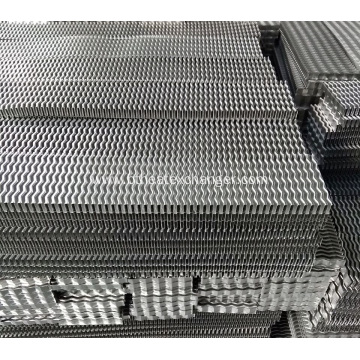 Big Pitch Wavy Fin for Harvester Heat Exchanger